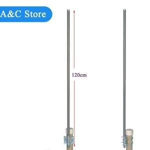 Image 2 - 433MHz omni fiberglass antenna UHF400 480MHz base station antenna radio antenna N Female connector outdoor roof monitor antenna