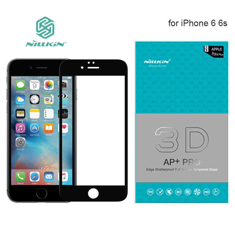 Nillkin AP+ Pro Full Cover Tempered Glass Screen Protector for iPhone 6 Plus 6s Plus 9H Hard Full Screen 3D Touch Glass
