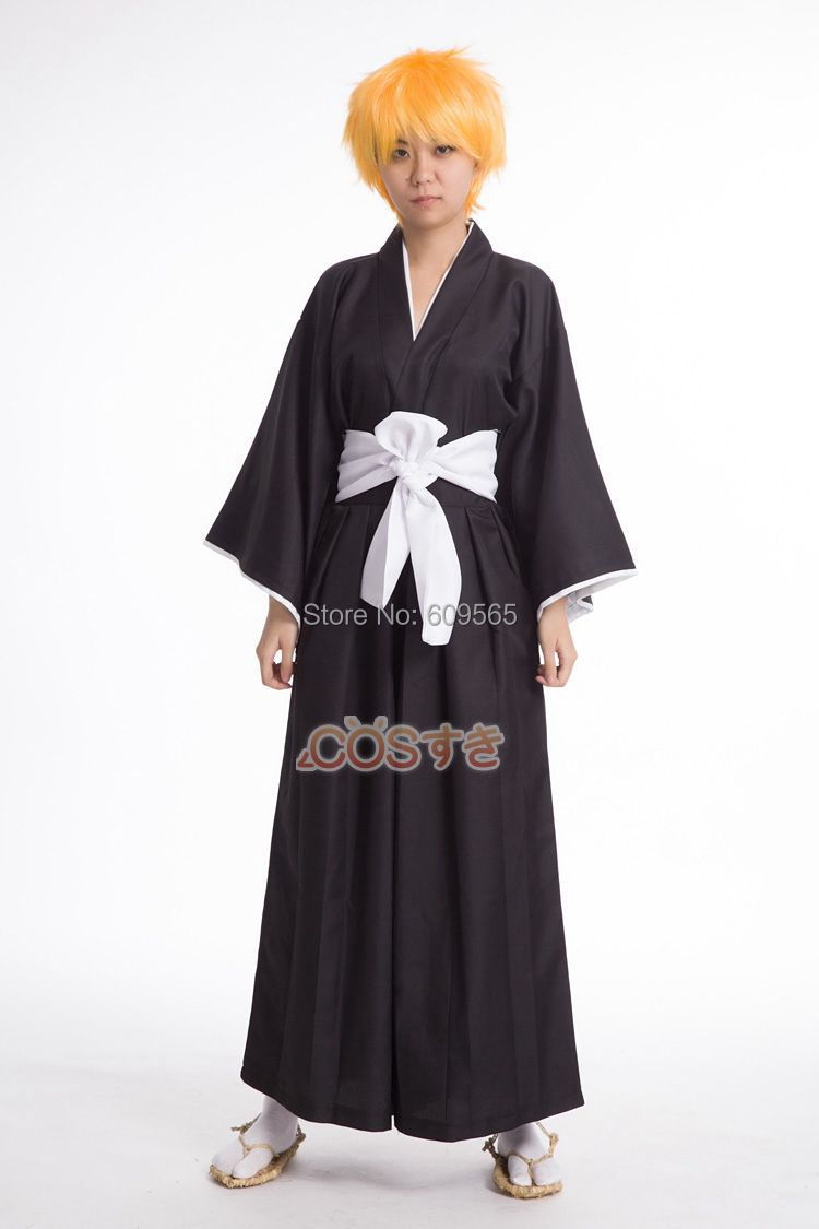 Free Shipping ! Anime Bleach Soul Reaper Captain Unisex Cosplay Costume ,Perfect Custom For You!