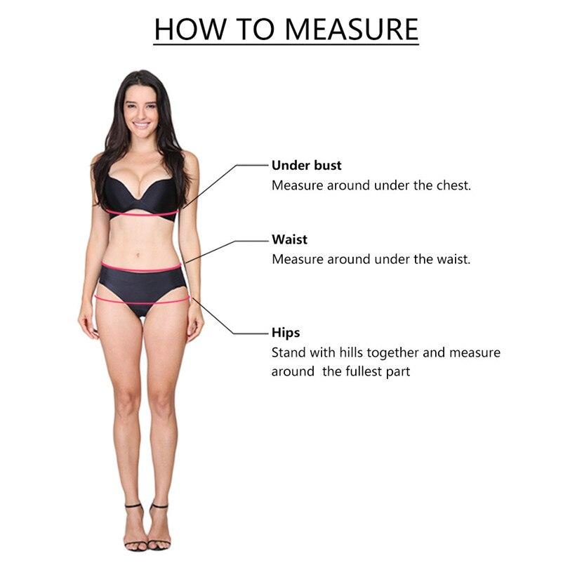 Hot sale Women's Striped Bikini Beachwear Swimsuit Push-up Swimwear S-XL All Seasons sport 2018 new #5O06 (9)