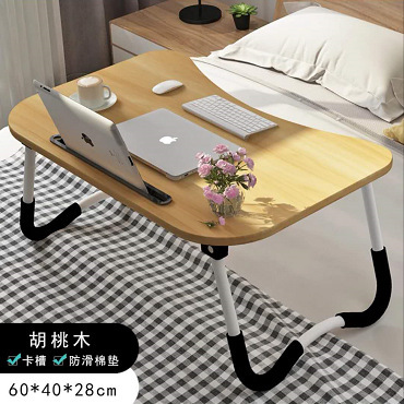Computer Desk office home Furniture panel laptop stand mesa plegable bed table standing desk lap desk with lap slot folding new