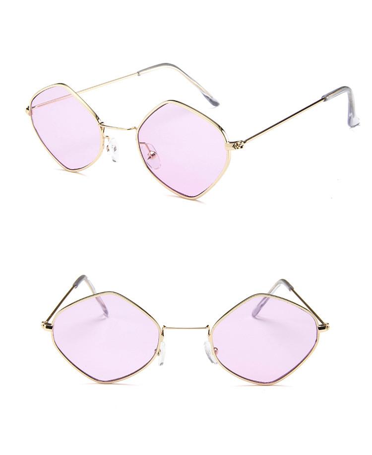 HTB1xfpmSpXXXXbPXVXXq6xXFXXXf - Rhombus Metal Framed Sunglasses Retro Small Size Lens PTC 223