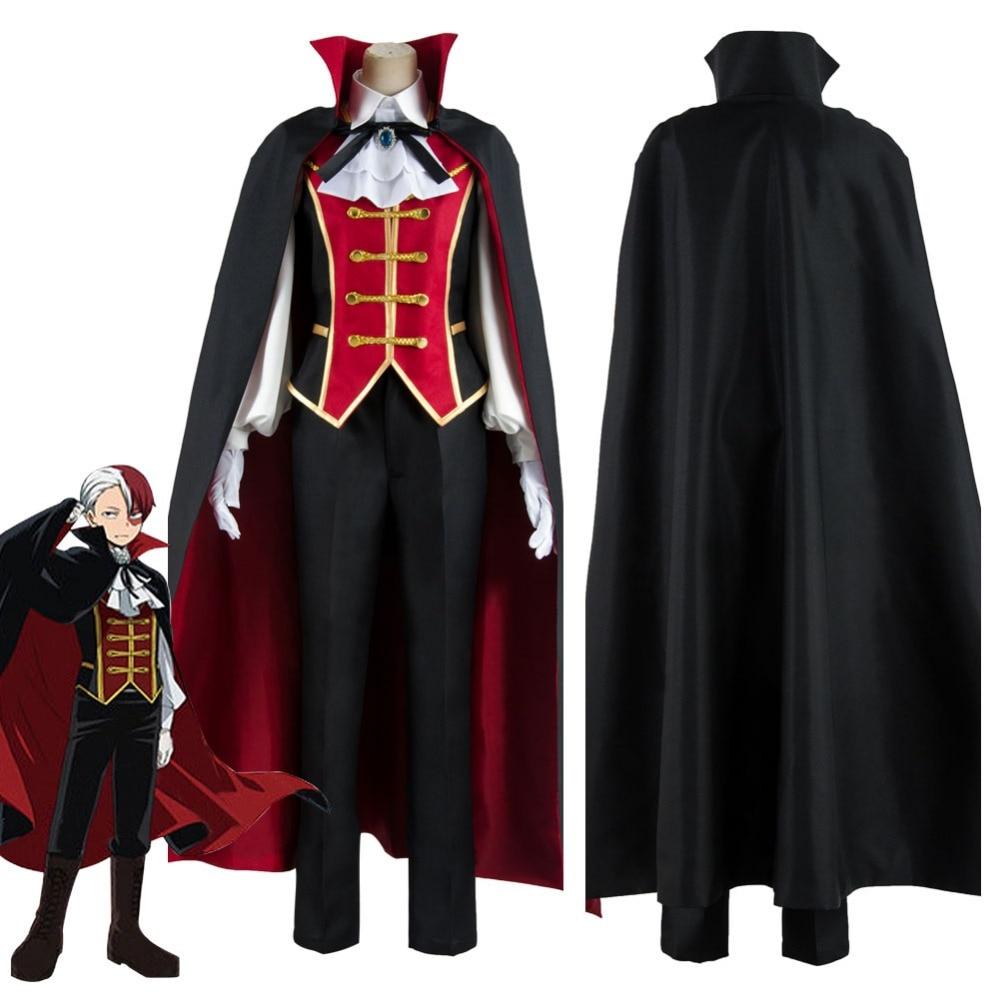 My Boku no Hero Academia Todoroki Shouto Cosplay Costume My Hero Academia Cosplay Costume Halloween Carnival Costumes