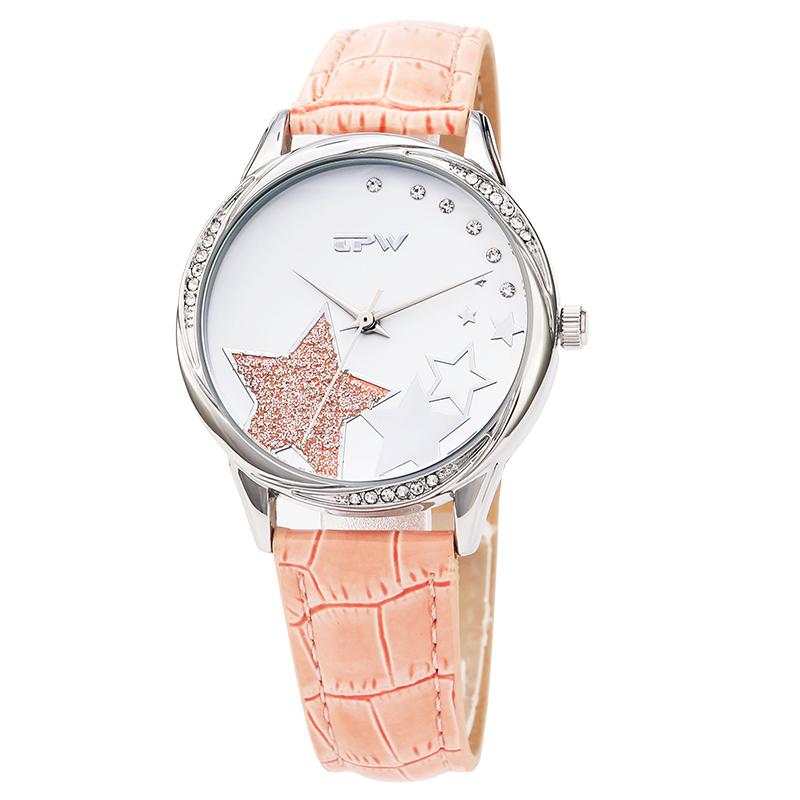 2018 Women watches New luxury Casual Analog Alloy