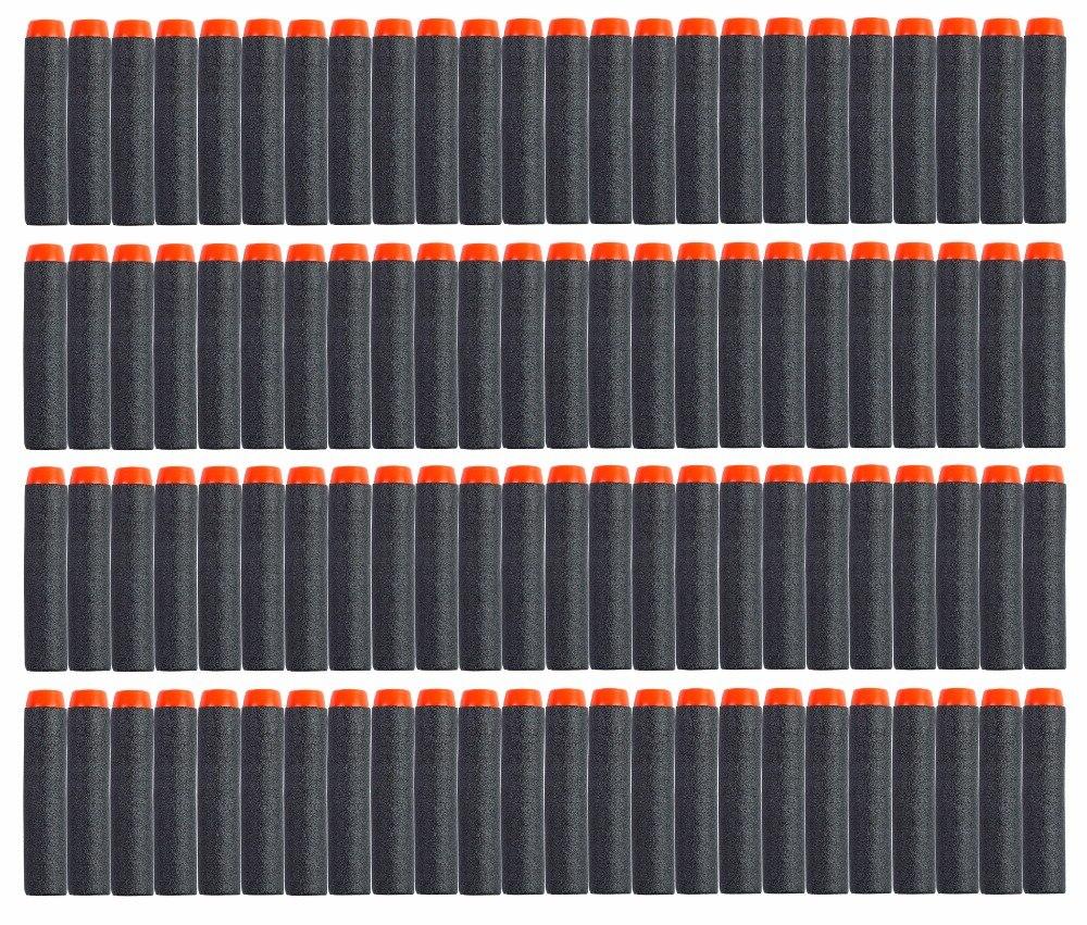 10-100pcs Bullet Darts For Nerf N-strike Round Head Blasters Kids Toy Gun Gift