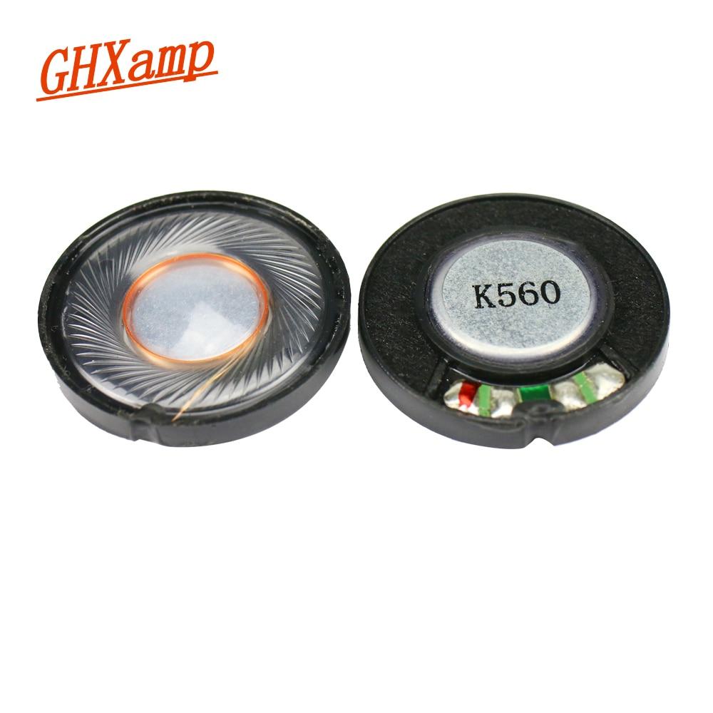 GHXAMP 2pcs 30mm Headphone Speaker Unit 32 ohm 100db Headset Driver Full Range Speakers Repair Parts For Headphones
