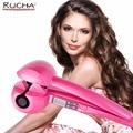 RUCHA Автоматическая Плойка для завивки волос керамическая плойка для завивки палочка роликовая волновая машина стайлер для волос с ЖК-цифро...