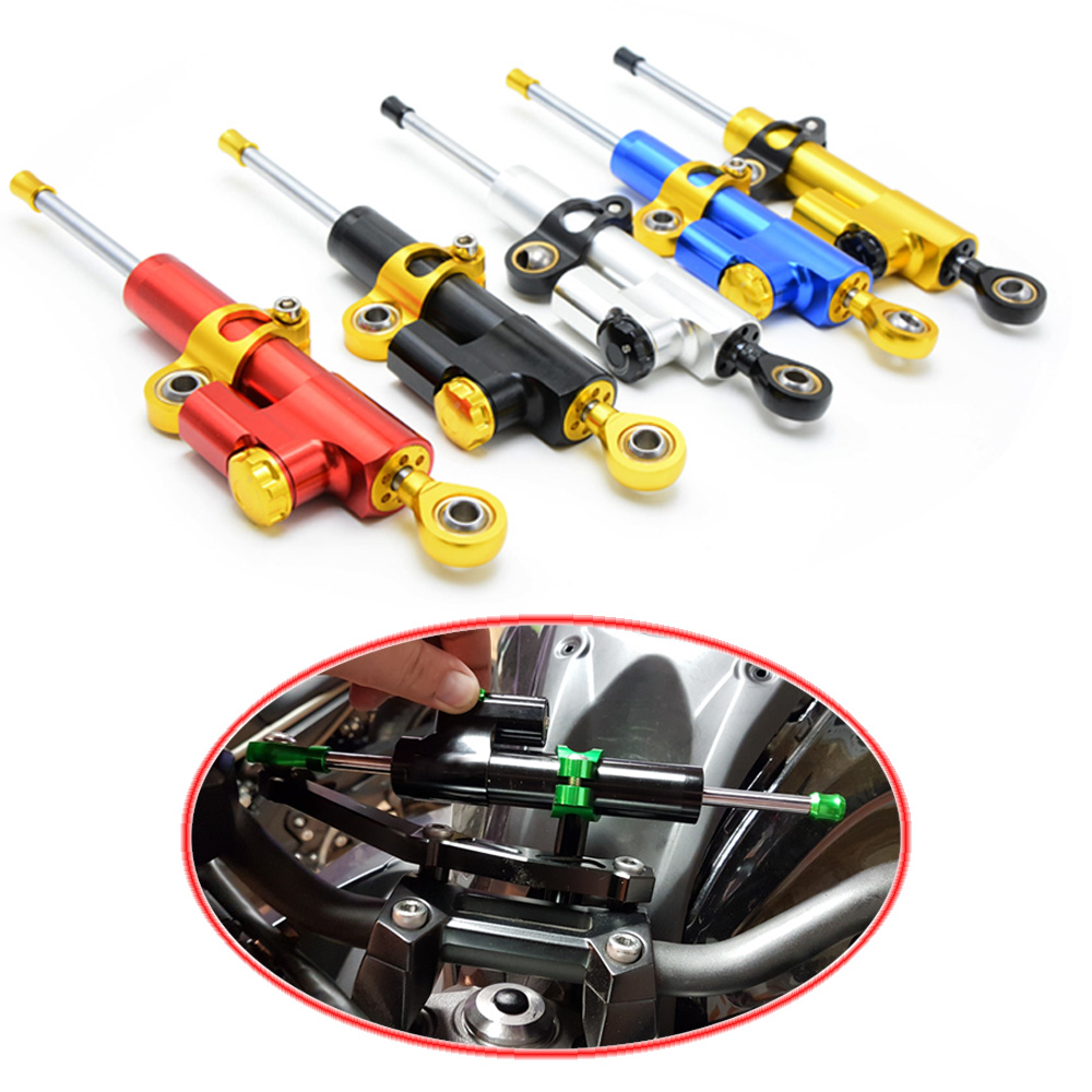 for CNC Damper Steering StabilizerLinear Reversed Safety Control Over  for KAWASAKI Ninja 250 ZX250R ZX 250R 2008 2009 2010 2011