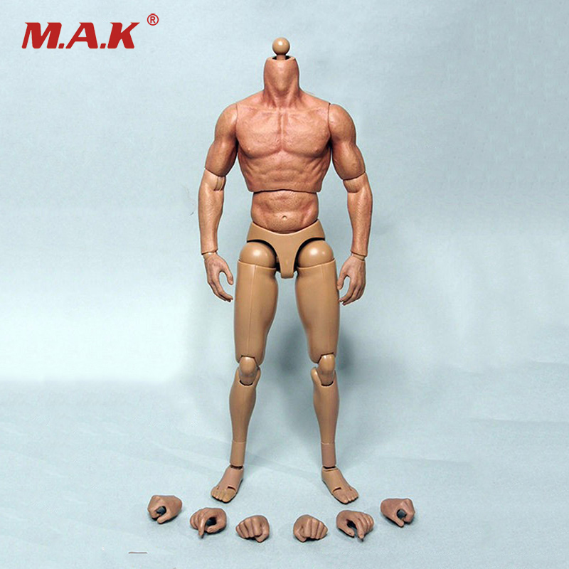 12 Wolverine Male Muscular Body Thin Thigh For 1/6 Scale Man Head Sculpt Collections Toys Gifts 12 inches male muscular body figures without neck for 1 6 scale mens head sculpts gifts collections toys