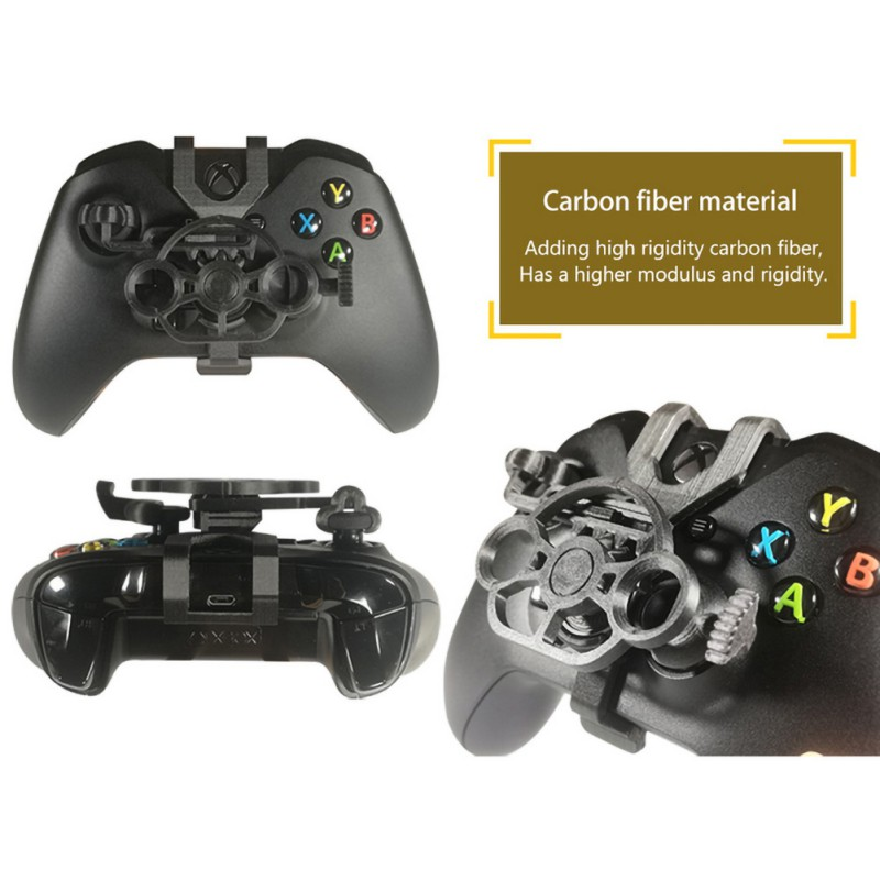 Gaming Racing Wheel Pubg Mobile Joystick 3D Mini Steering Wheel Case  Add On For Xbox One X / Xbox One S / Elite Controller