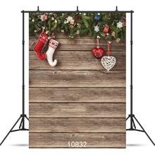 SJOLOON 5x7ft Рождественский фон для фотосъемки детский деревянный задний фон для фотографии фон для фотосъемки фоновая фотостудия виниловые фоны