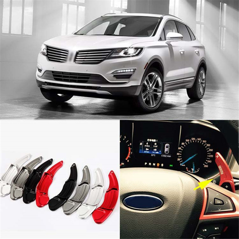 2017 Lincoln Mkc Suspension: Savanini 1pair Alloy Add On Steering Wheel DSG Paddle