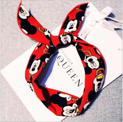 1 pcs Meninas Encantadoras Arcos Minnie Orelhas de Mickey Acessórios Para o Cabelo Crianças Headband do Meninas Acessórios Para o Cabelo Cabeça Orelhas de Mickey Mouse