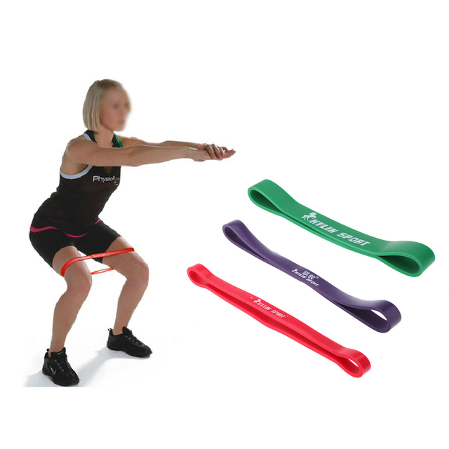 Kylin Sport Leg Arm Muscle Building Band Exercises Looped Fitness