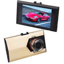"1080P Ultra-thin Car Camera 500 Mega Pixel Auto Recorder 3.0"" Screen DVR Camcorder Microphone Dash Cam  (Gold  Black)"