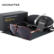 Fashion Mens Large Metal Frame Sunglasses Men Brand Designer Polarized Sunglasses Driving Sun glasses Glasses UV400