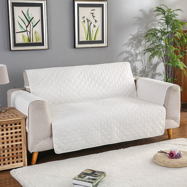 Reversible Quilted Sofa Couch Covers