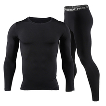 Long Johns Winter Thermal Underwear Sets Men Brand Quick Dry Anti-microbial Stretch 2017 Mens Thermo Underwear Male Spring Warm cheap BNK1 Bunbell Angelov Spandex Polyester In the lumbar Polyester spandex Pants Knitting warm pants plain S M L XL XXL 3XL