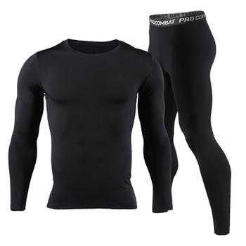 Long Johns zima Thermal Bielizna zestawy męskie marki Quick Dry Anti-mikrobakteryjne stretch 2017 mężczyźni Thermo Bielizna męska wiosna ciepły tanie i dobre opinie Mężczyzn BNK1 Bunbell Angelov Spandex poliester W lędźwiowe Polyester spandex Spodnie Dziewiarskich ciepłe spodnie
