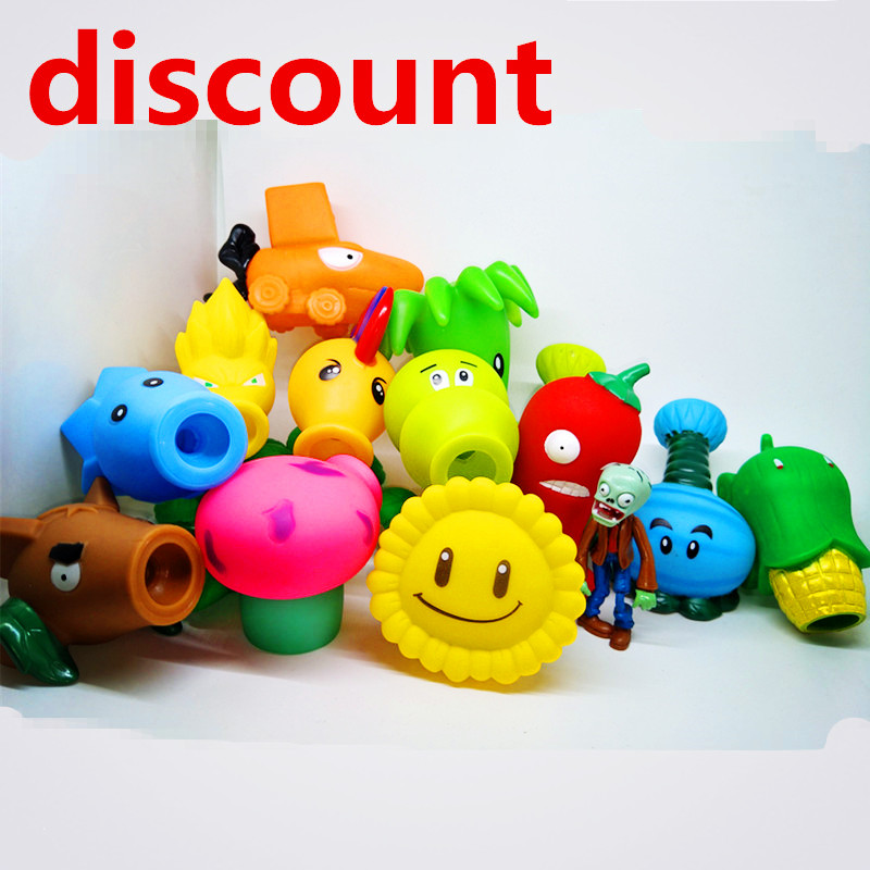 [Promotion] NEW Plants vs Zombies PVC Action Figures Toy, PVZ Plant + Zombies Figures Toys For Children Packaging In Opp Bag(China)