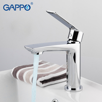 GAPPO Basin Faucet basin chrome mixer taps waterfall bathroom mixer shower faucets bath water Deck Mounted Faucets taps