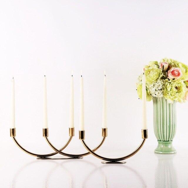 Moderne Kerzenständer 2016 neue design goldene moderne kerzenständer dekorative