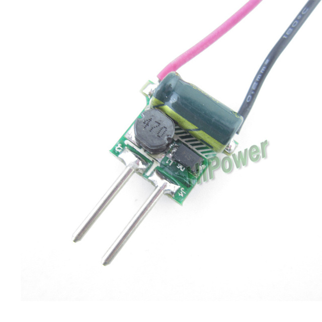 20X 12V LED MR16 Driver 1*1W 3*1W LED Transfomer constant current 300mA power supply for 1pc,3pc led chip LED lamp Freeshipping