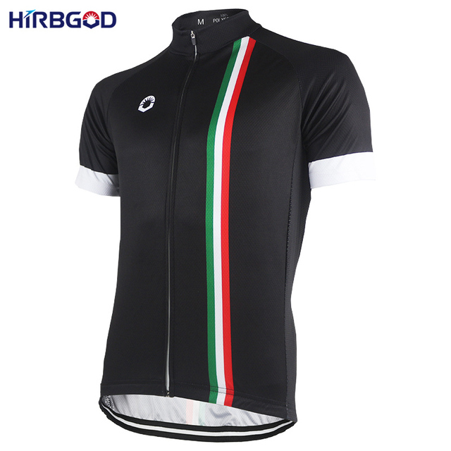 HIRBGOD Italy Flag Stripe Men s Cycling Jersey Short Sleeve Sport Bicycle  Bike Shirt Clothing Wear Jerseys Maillot-NR191 ae097ff30