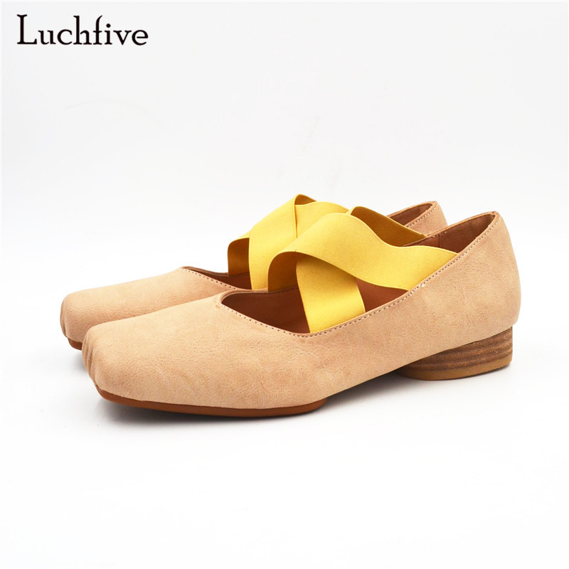 Luchfive Professional Ballet Shoes for women With Ribbon elastic band med heel apricot black concise Dance Shoes casual shoes canvas shoes women black red jazz shoes ballet dance shoes split heels sole sl02138b2