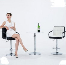 European bar chair lift home tall stool Cashier backrest