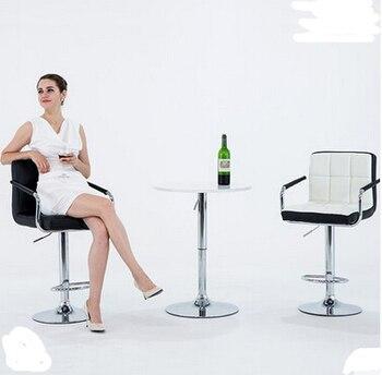 цена на European bar chair lift chair home tall bar stool bar stool Cashier chair backrest