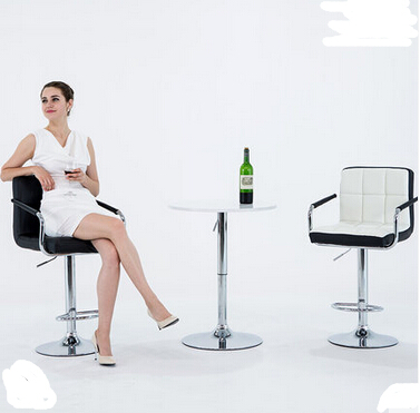 European bar chair lift chair home tall bar stool bar stool Cashier chair backrest