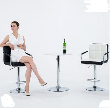 European bar chair lift chair home tall bar stool bar stool Cashier chair backrest