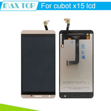 100% TESTED Original Golden For CUBOT X15 LCD Display And Touch Screen Assembly For CUBOT X15 Smartphone Free Shipping