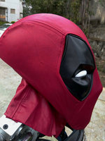 Cosplay adult Deadpool faceshell with Magnetic Lenses lens deadpool fabric mask Halloween Prop Gift