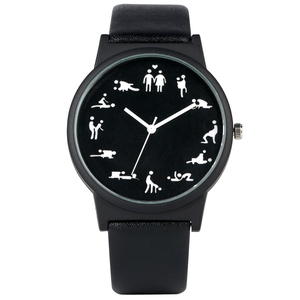 Creative Fun Quartz Watch for