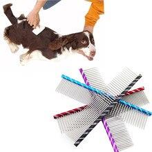 Гребень для собак, гребень для собак и кошек, гребень для собак, кошек, волос, триммер для стрижки, гребень, инструмент для красоты