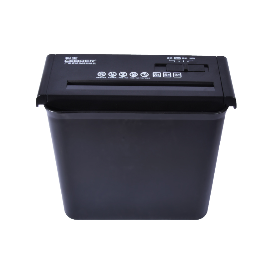 Brand New 502 10L Mini Desktop Electric Shredder Electric Cutting File Shredder Strip Office Home 220V/75W paper shredder ...