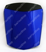 Areyourshop Blue Universal Motorcycle Rear Seat Cover Cowl Seat Cowl Rear Pillion Fairing Set For Yamaha R6 2003 2005