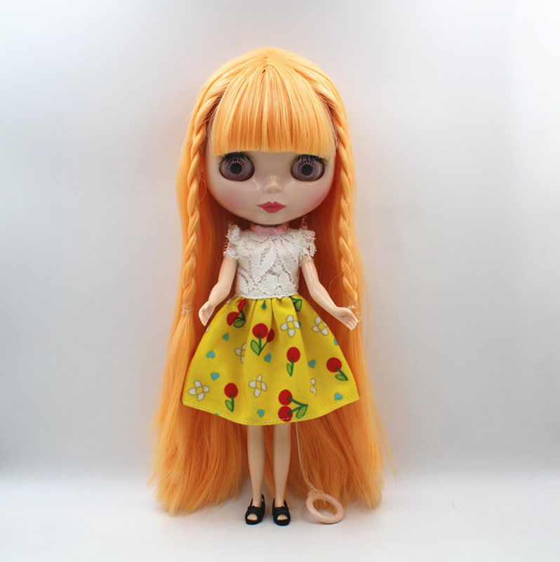 Free Shipping big discount RBL 464 DIY Nude Blyth doll birthday gift for girl 4colour big