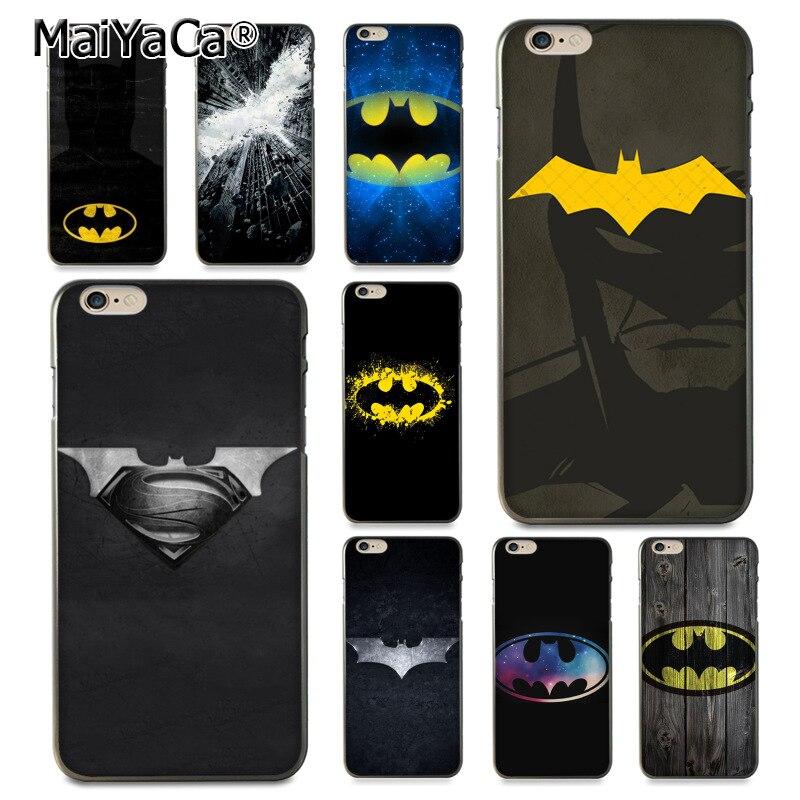 MaiYaCa batman movie logo Luxury Hybrid phone case for Apple iPhone 8 7 6 6S Plus X 5 5S ...