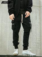 VIISHOW Streetwear Joggers Men's Pants Brand Hip Hop Cargo Pants Men 2018 New Pantalon Hombre Black Trousers Men KC1145181