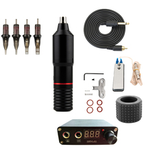 Professional Tattoo Rotary Pen Machine Complete Kits Mini Power Set Studio Supplies