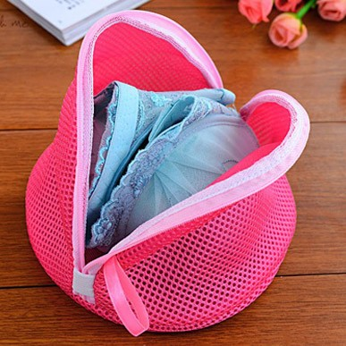 Double thickening wash protect the bag triangle Washing Machine Laundry Bra Aid Lingerie Mesh Net 22*17*15cm Free shipping