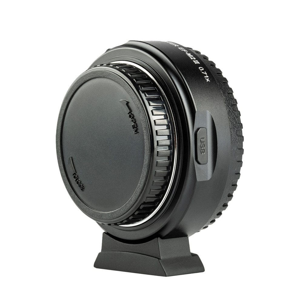 Promote╨Viltrox Adapter Mount-Lens Booster Focal-Reducer Canon M43-Camera Ef-M2-Ii Auto-Focus