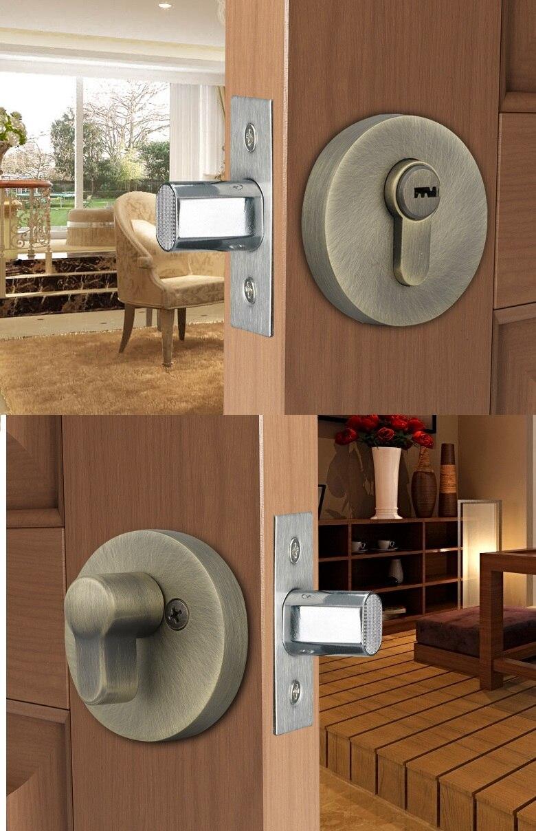 Premintehdw Mortise Interior Door Lock Set invisible hiding door bedroom thumb turn Premintehdw Mortise Interior Door Lock Set invisible hiding door bedroom thumb turn