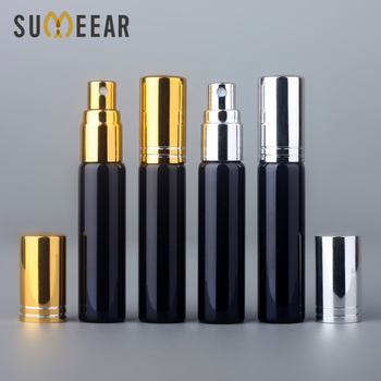50Pcs/lot 10ml Travel Portable Perfume Bottle Spray Bottles Gift Sample Empty Containers Atomizer Mini Refillable Bottles Parfum 50pcs lot 2ml 3ml 5ml 10ml sample glass vials portable mini perfume atomizer refillable bottles clear empty spray bottle