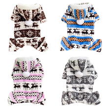 Winter Dog Clothes Flannel Clothing For Dogs Puppy Costume Winter Soft Dog Pet Clothes