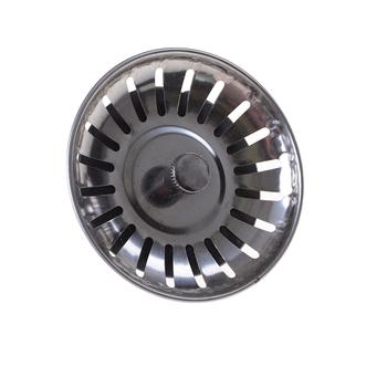 1 sztuk wysokiej jakości zlewozmywak ze stali nierdzewnej sitko korek wtyczka odpływowa filtr do zlewu umywalka łazienkowa tanie i dobre opinie HUXUAN Bez kran Other STAINLESS STEEL Kitchen Sink Strainer Waste Plug