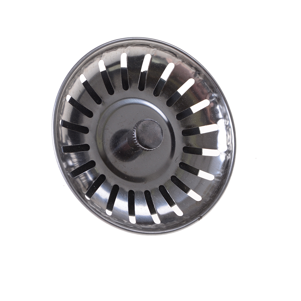 1PCS High Quality Stainless Steel Kitchen Sink Strainer Stopper Waste Plug Sink Filter Bathroom Basin Sink Drain